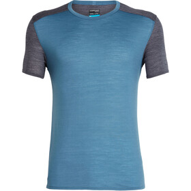 Icebreaker Amplify SS Crewe Shirt Herren thunder/panther heather
